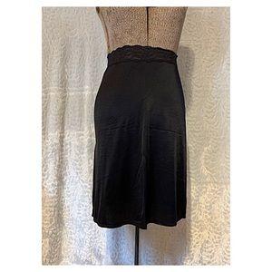 Black Skirt Slip